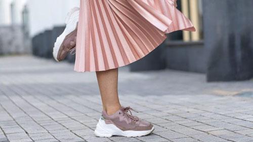 En mode sneakers