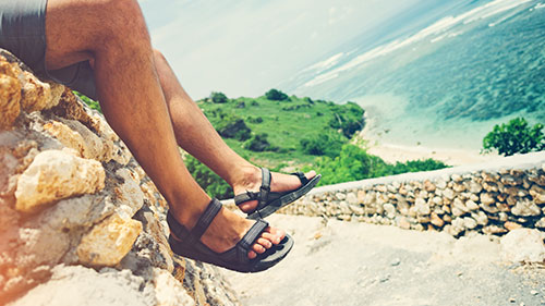 Sandales aquatiques